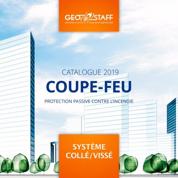 Catalogue Geostaff Système collé vissé