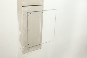Geostaff fire-resistant inspection hatches for the passive fire protection