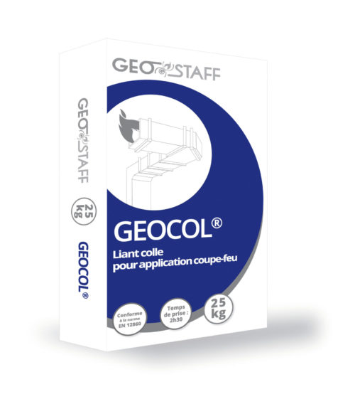 Colle GEOCOL® de Geostaff pour application coupe-feu
