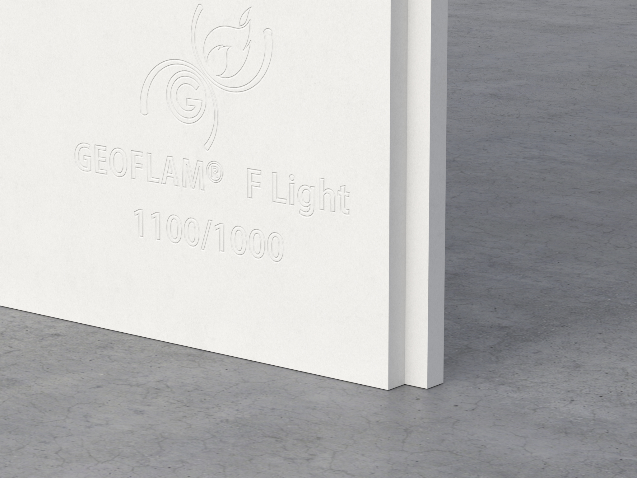 Plaque coupe-feu GEOFLAM® F-Light