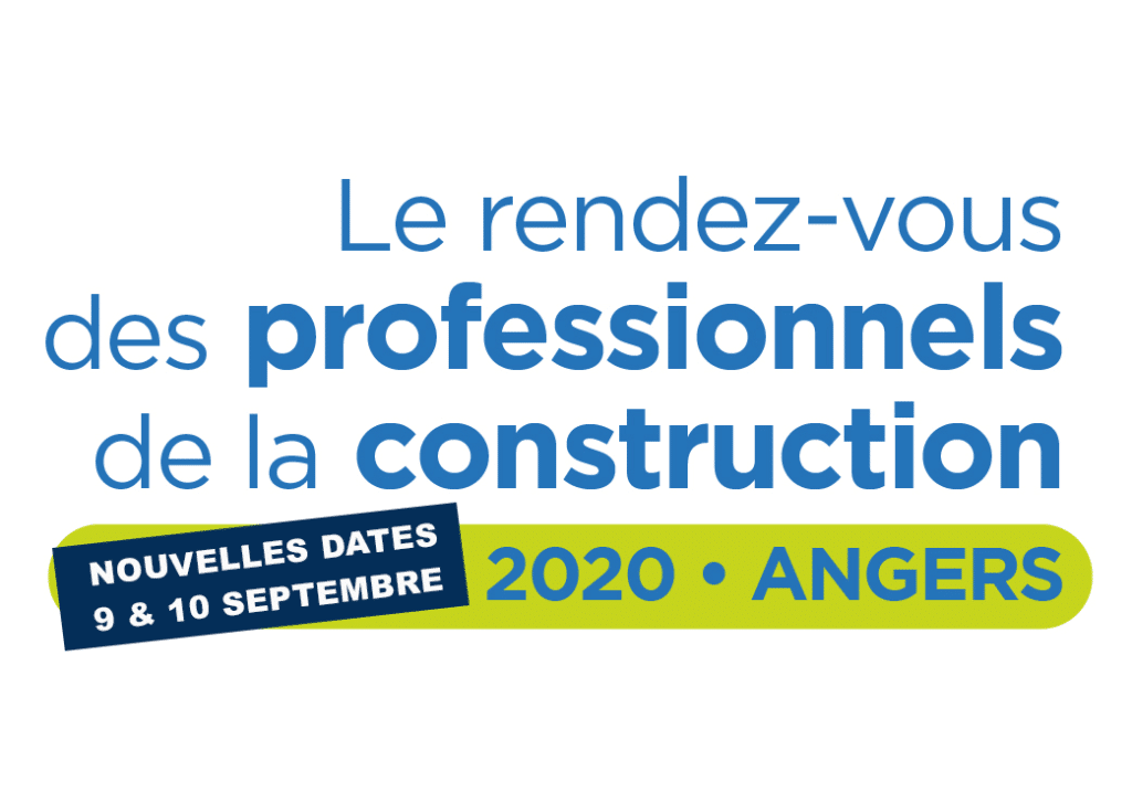 Bannière UNTEC pour le congrès 2020 à Angers
