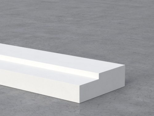 Plaster fire-resistant accessory for passive fire protection