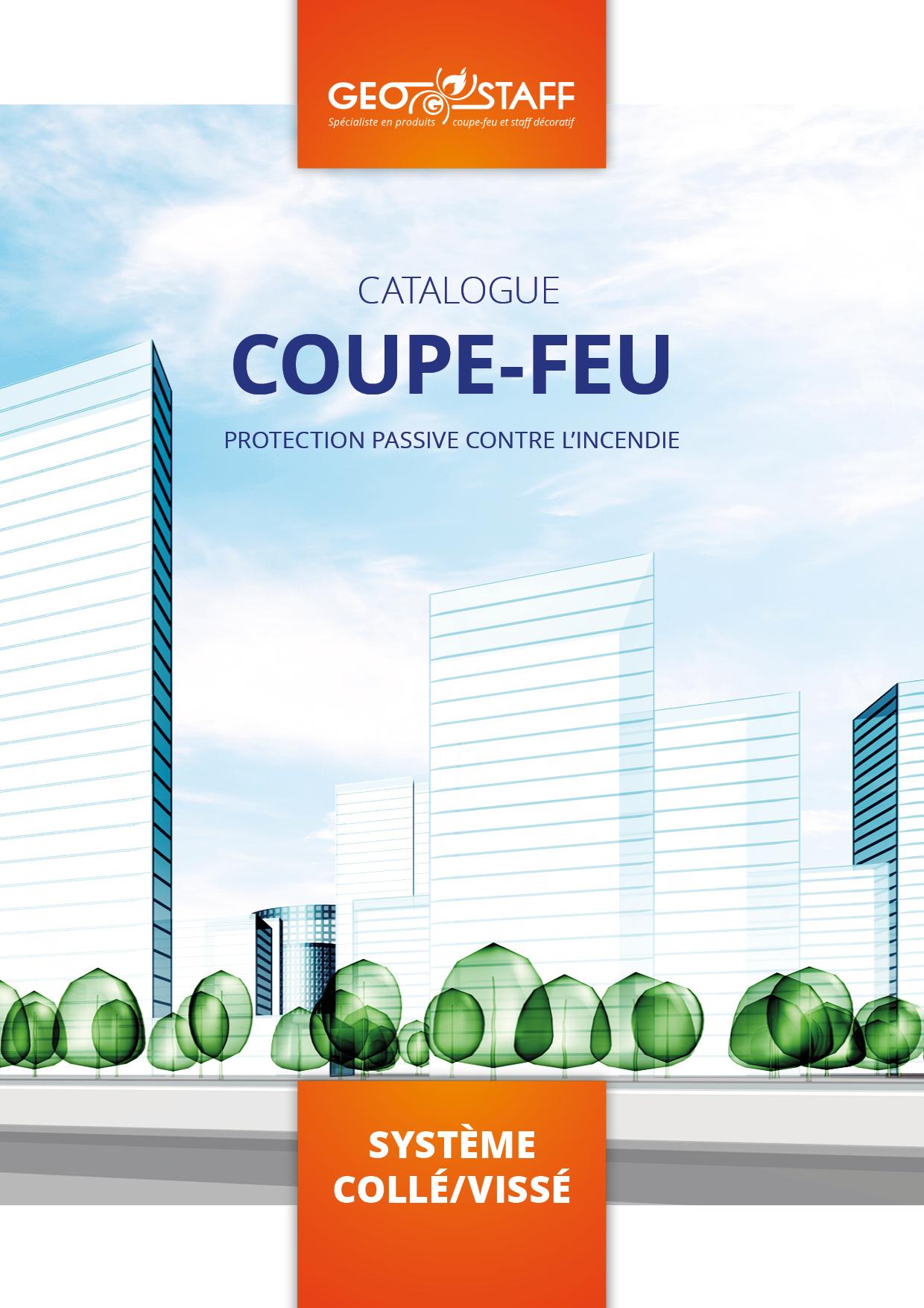 Couverture catalogue Geostaff