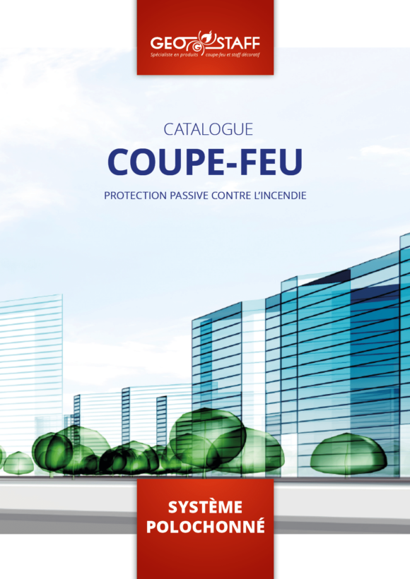 Couverture catalogue coupe-feu Geostaff