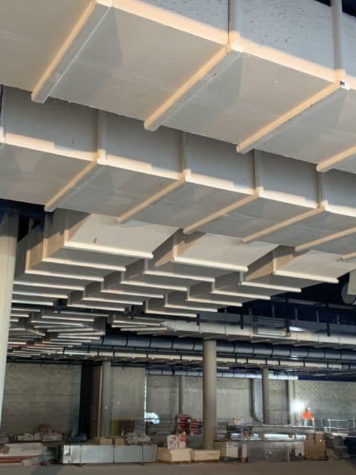 Geostaff horizontal ventilation duct