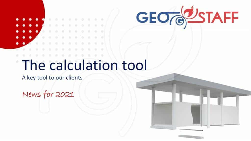 Geostaff calculation tool