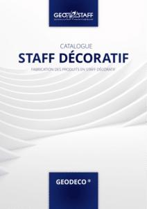 Couverture catalogue GEODECO staff décoratf Geostaff