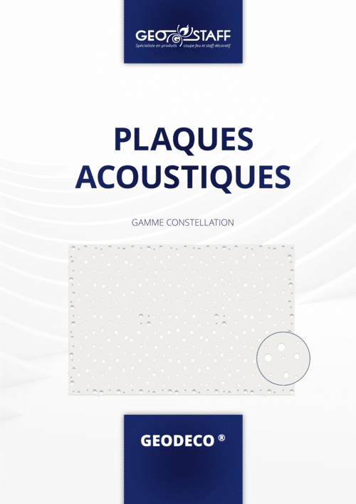 Plaques acoustiques Gamme Constellation GEOSTAFF