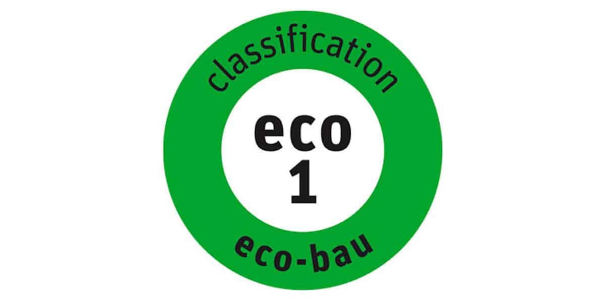 label eco-bau produit